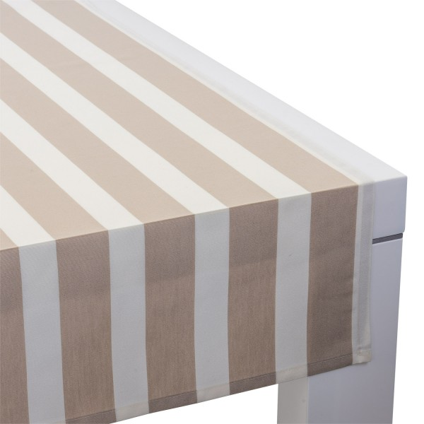 Outdoor-Tischläufer Classline MEDIUM STRIPES BEIGE