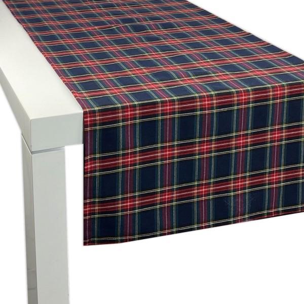 Tischläufer SCOTT BLAU 45x150 cm