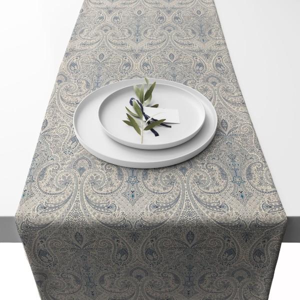 Apart Tischläufer blau