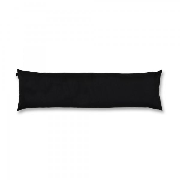 Outdoor-Kissenhülle 35x120x10 cm schwarz