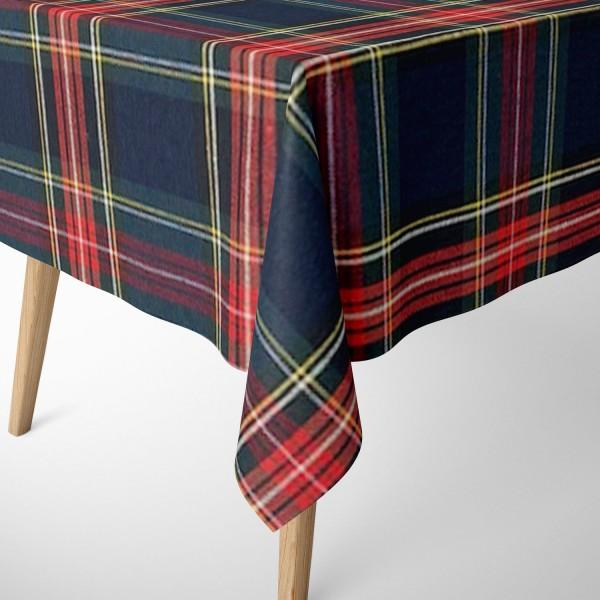 Tischdecke Scott blau