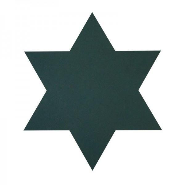 Glasuntersetzer STERN grün