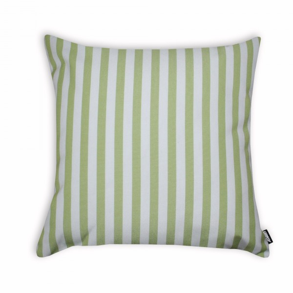 Outdoor-Kissenhülle Classline STRIPES Creme/Limone
