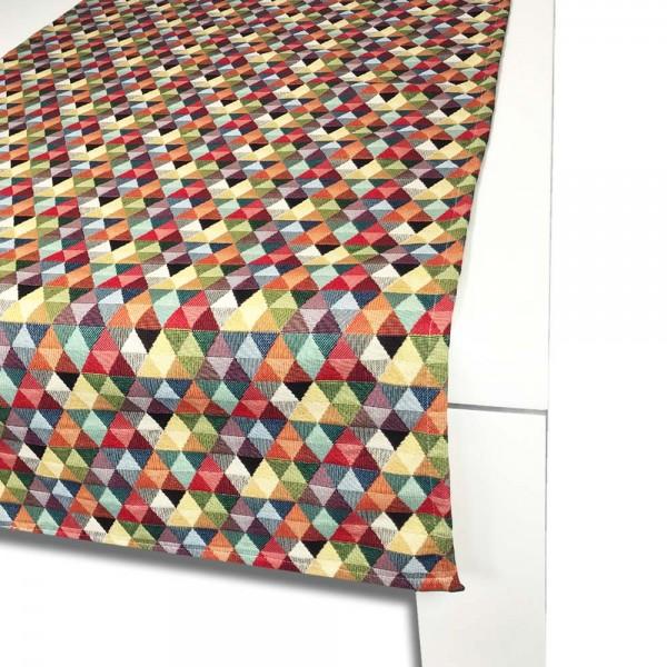 Tischläufer TRIANGLE 65x150 cm bunt