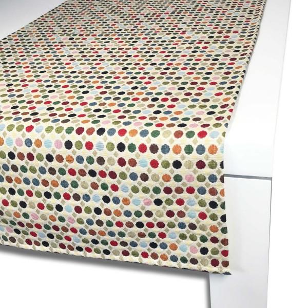 Tischläufer PUNTO 65x150 cm bunt