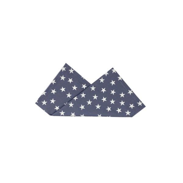 Serviette LITTLE STARS 43x43 cm blau