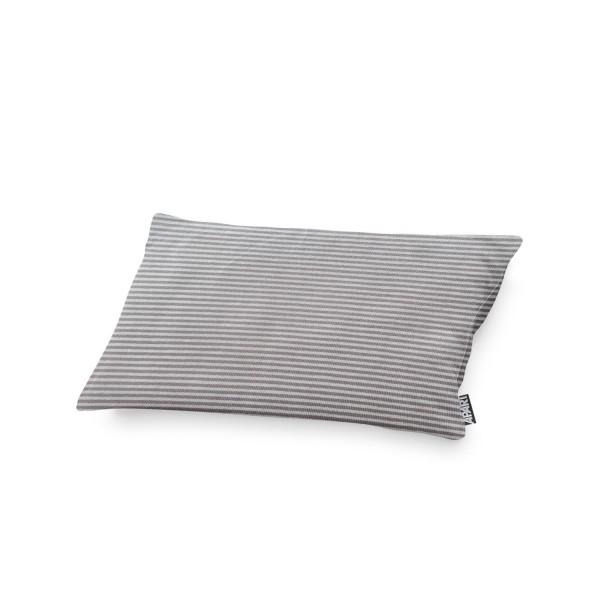 APART Jersey Kissenhülle Stripes grau