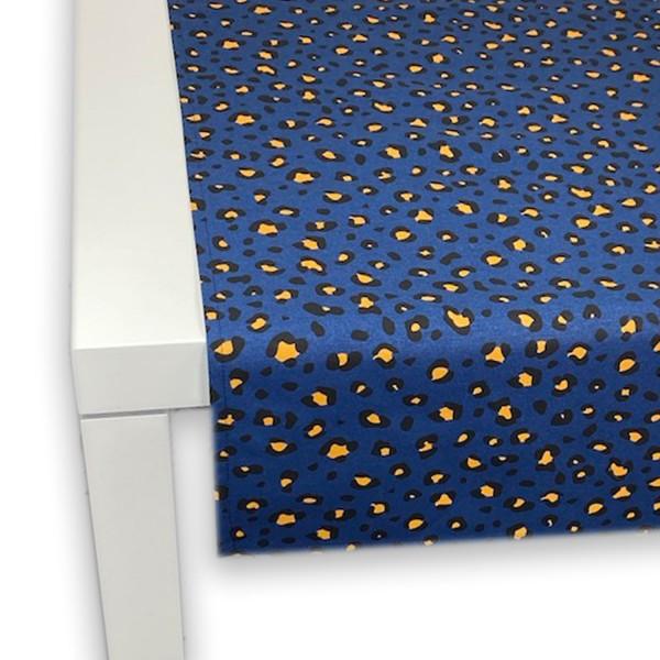 Tischläufer LEO 50x150 cm blau