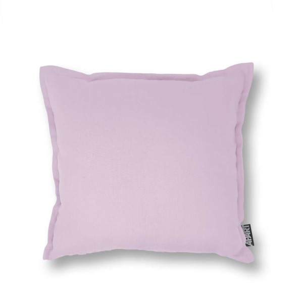 Kissenhülle LINUS  LEINEN 40x40 cm mit Blende Rosa