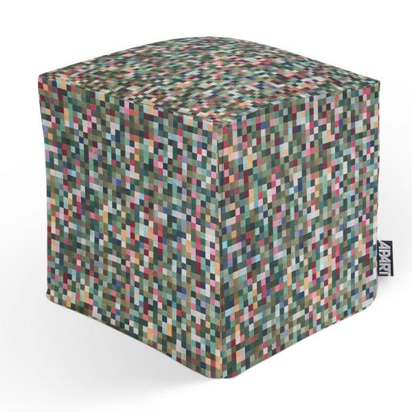 CUBE PIXEL 45x45x45 cm