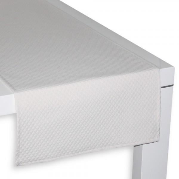 Tischläufer PIQUÉ NATUR 45x150 cm