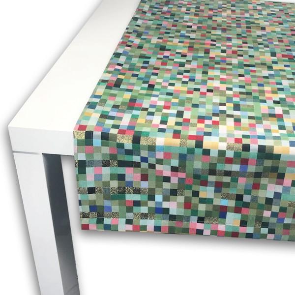 Tischläufer PIXEL LUREX 50x150 cm