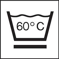 Waschbar bei 60 Grad