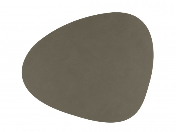 LindDNA Tischset Curve L Army Green