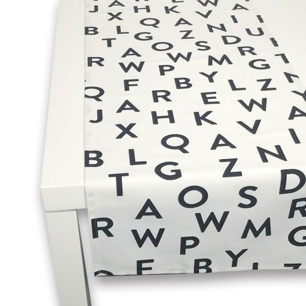 Tischläufer ABC 50x150 cm