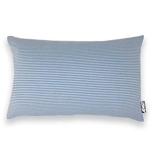 Jersey Kissenhülle MIA mit Streifen 25x40 cm