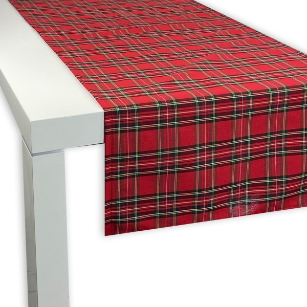 APART Tischläufer Scott rot