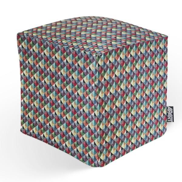 CUBE TRIANGLE 45x45x45 cm