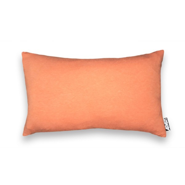 Jersey Kissenhülle Mia orange meliert 25x40