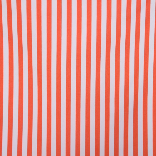 Outdoorstoff STRIPES Orange/Creme