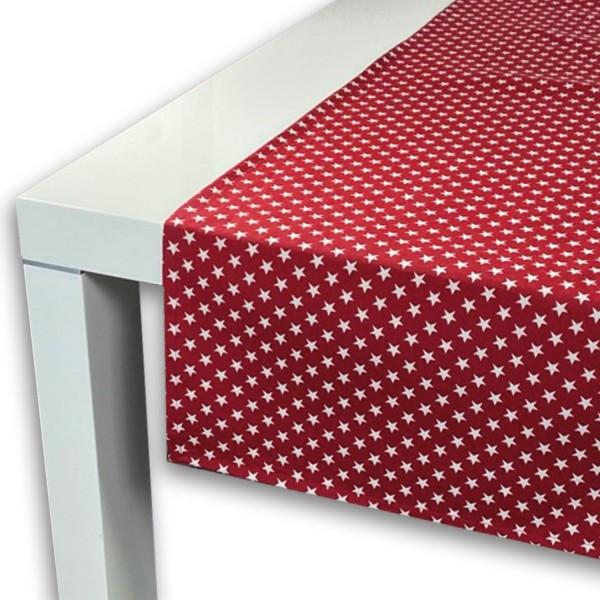 Tischläufer TINY STARS rot