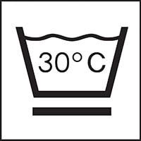 Waschbar bei 30 Grad