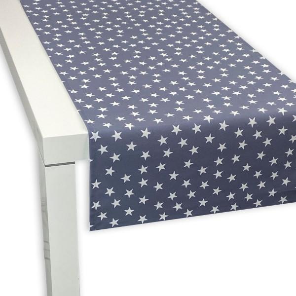 APART Tischläufer Little Stars blau