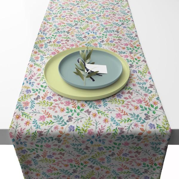 APART Tischläufer Secret GArden Pastell