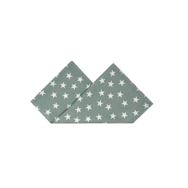 Serviette LITTLE STARS 43x43 cm Schilf