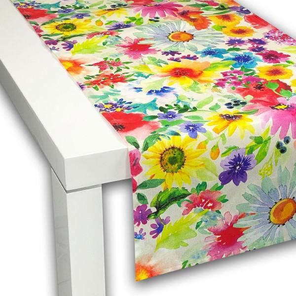 Outdoor Tischläufer Summer-Flowers von APART