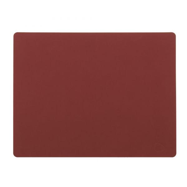 Ledertischset 35x45cm Rot