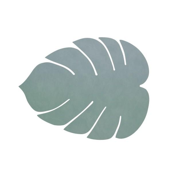 Ledertischset Monstera Leaf Nupo Pastell Green