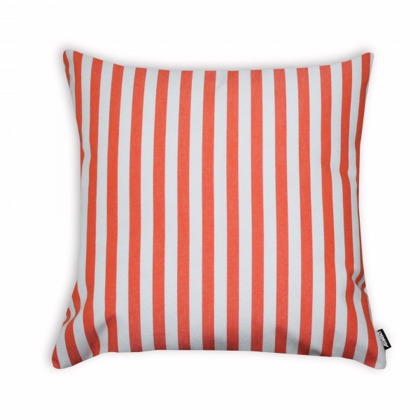 Outdoor-Kissenhülle Classline STRIPES Creme/Orange