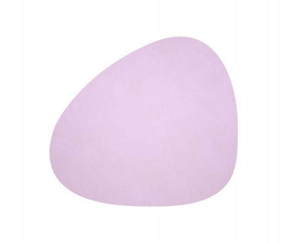 Ledertischset Lind dny CURVE L Lavender
