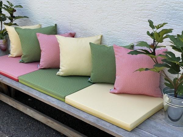 Outdoor-Kissenhülle HELIX in 6 Farben und 2 Größen
